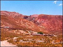 Paisaje del noroeste argentino  (Foto: gentileza Asociación Civil Los Algarrobos)