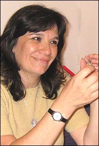 Carmen Yapura, especialista en capacitación docente de la Asociación Civil Los Algarrobos  (Foto: gentileza Asociación Civil Los Algarrobos)