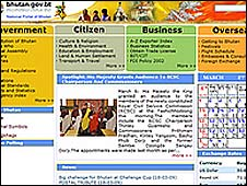 Bhutanese government website
