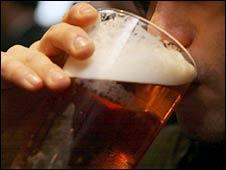 Man drinking (Generic)