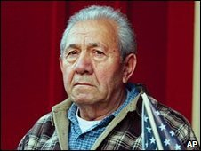 Josias Kumpf at his home in Wisconsin, September 2003