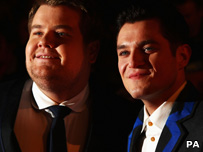 James Corden and Mathew Horne