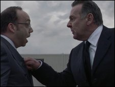 Paul Giamatti and Tom Wilkinson