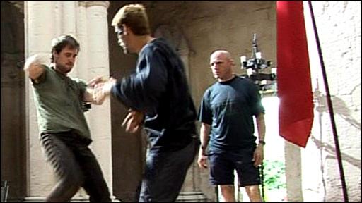 Robin Hood stunt