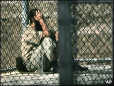 detainee at Camp X-Ray