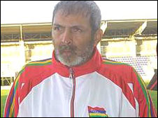 Maritius coach Akbar Patel