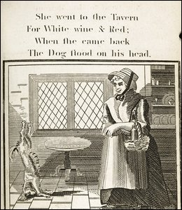 Mother Hubbard - She Went to the Tavern, 1806