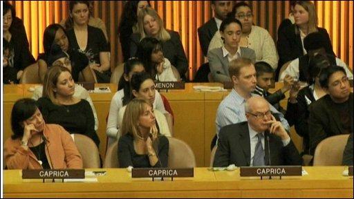 Meeting at UN