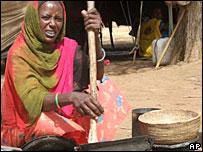 امرأة دارفورية