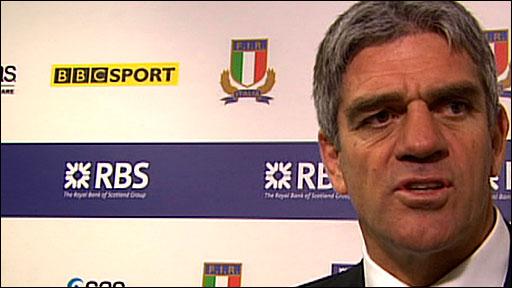Italy coach Nick Mallett