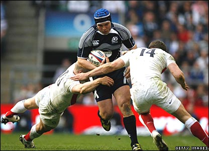 Mark Cueto, Mike Tindall, England; Alasdair Strokosch, Scotland