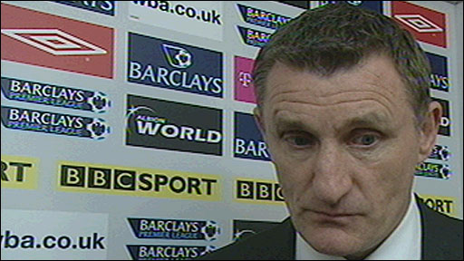 West Brom boss Tony Mowbray
