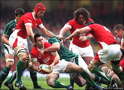 Stephen Jones, Wales; John Hayes, Ireland