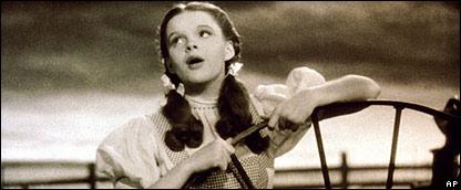 Judy Garland como Dorita en El Mago de Oz
