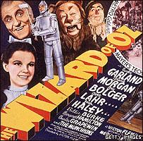 Afiche de la película del Mago de Oz