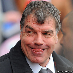 Blackburn boss Sam Allardyce
