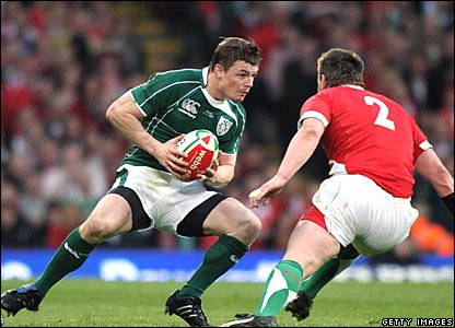 Brian O'Driscoll, Ireland