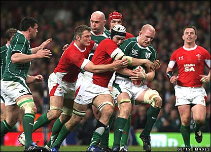 Paul O'Connell, Ireland; Ryan Jones, Wales