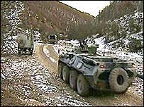 Войска в Дагестане