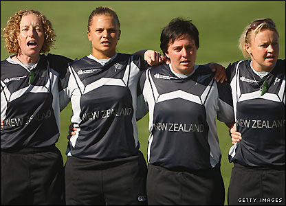 New Zeland women's cricket team