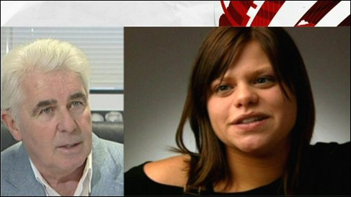 Max Clifford and Jade Goody