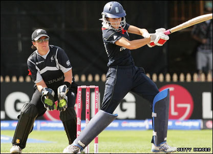 England opener Caroline Atkins hits out