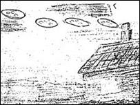 Dibujo de OVNIS