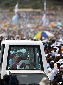 The Pope in Luanda