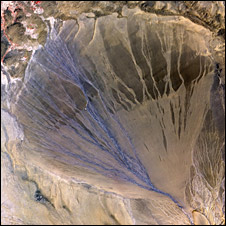 Alluvial fan (Nasa)