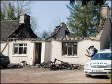 House fire, Killygordon, County Donegal