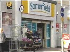 Somerfield store in Old Colwyn