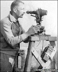 An Ordnance Surveyor