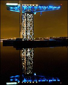 The Titan Crane at Clydebank