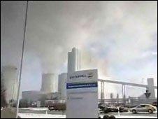 Schwarze Pumpe CCS power plant (BBC)