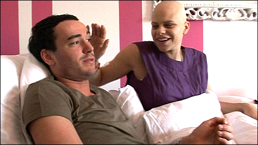 Jack Tweed and Jade Goody/courtesy of Living TV
