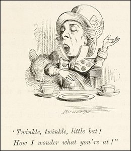 Alice in Wonderland, Lewis Carroll, 1866 printing