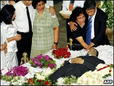 Funeral in Colombo