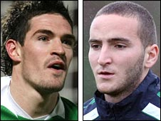 Kyle Lafferty and Martin Paterson