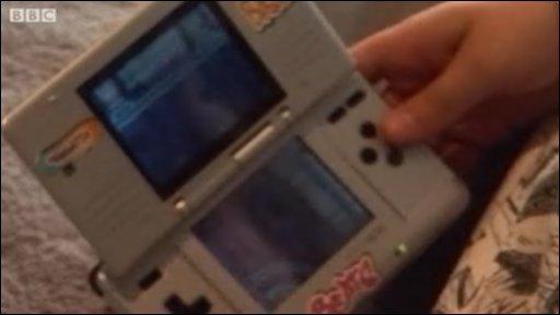Hand held computer game