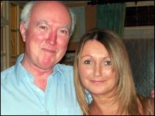 Claudia Lawrence with her father Peter