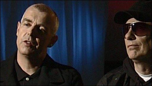Pet Shop Boys - Neil Tenant and Chris Lowe