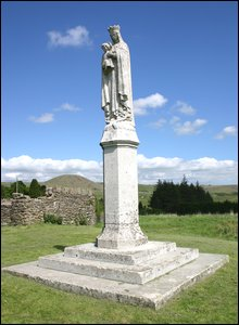 Our Lady of Penrhys.  Photo by Wayne Carter.