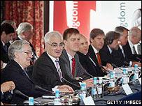 Los ministros de finanzas del .