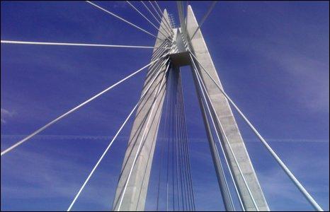 Chartist Bridge, Blackwood.  Photo by Chris Lewis.