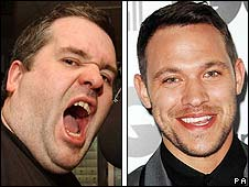 Chris Moyles and Will Young
