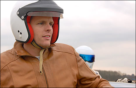 Jake finishes his lap on the Top Gear track, but how did he do?