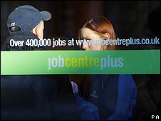 Job centre in Portsmouth, UK
