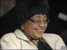 Winnie Madikizela-Mandela, file image