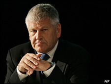 Udo Voigt, leader of the far-right NPD (25 May 2008)
