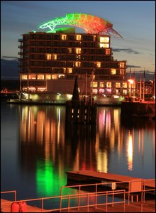 St David's Hotel, Cardiff Bay.  Photo by Steve Chatman.